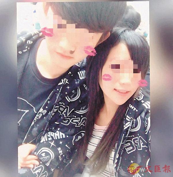 ■受害人潘曉穎 ( 右 ),上月偕同姓陳男友(  左 ) 到台灣旅遊。    fb圖片