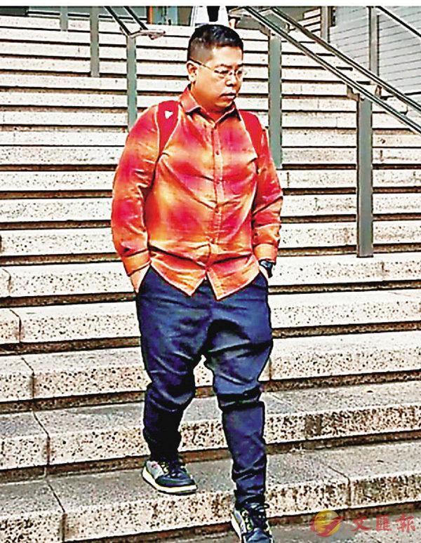 ■林子健昨庭上否認控罪,事後獲准保釋候審。資料圖片