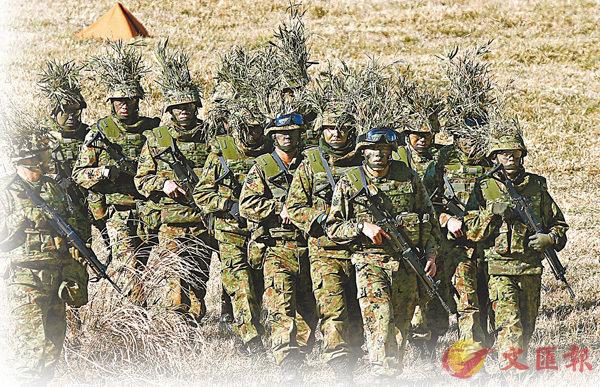 ■今次是陸上自衛隊1954年成立以來最大規模改革。 資料圖片