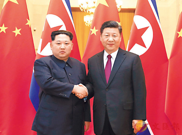 習近平:中朝友誼不會變