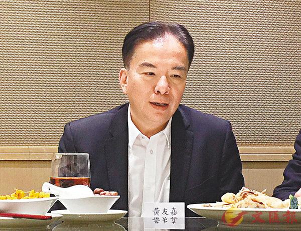 ■積金局主席黃友嘉 香港文匯報記者張美婷 攝