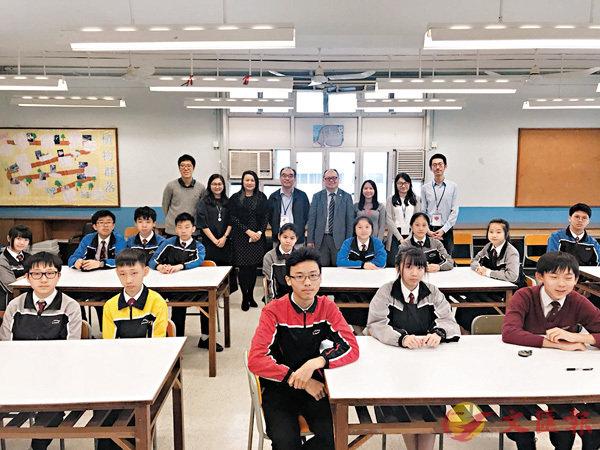 ■教大與嶺南鍾榮光博士紀念中學合作,為學生設計多元化的文言文教材。 香港文匯報記者唐嘉瑤  攝
