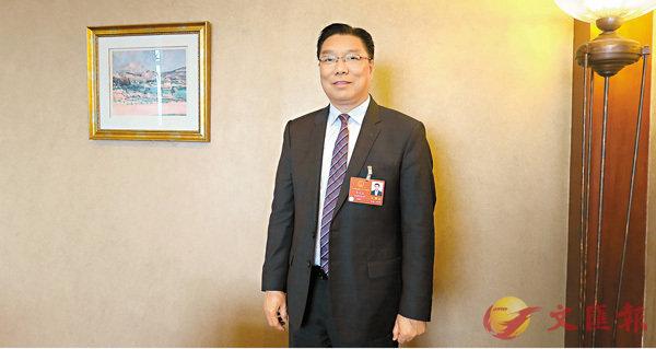 ■李應生。香港文匯報記者朱朗文  攝