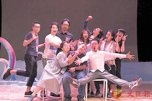 ■演戲家族作品《戀愛輕飄飄》在珠三角地區演出多年,去年亦在番禺演出。