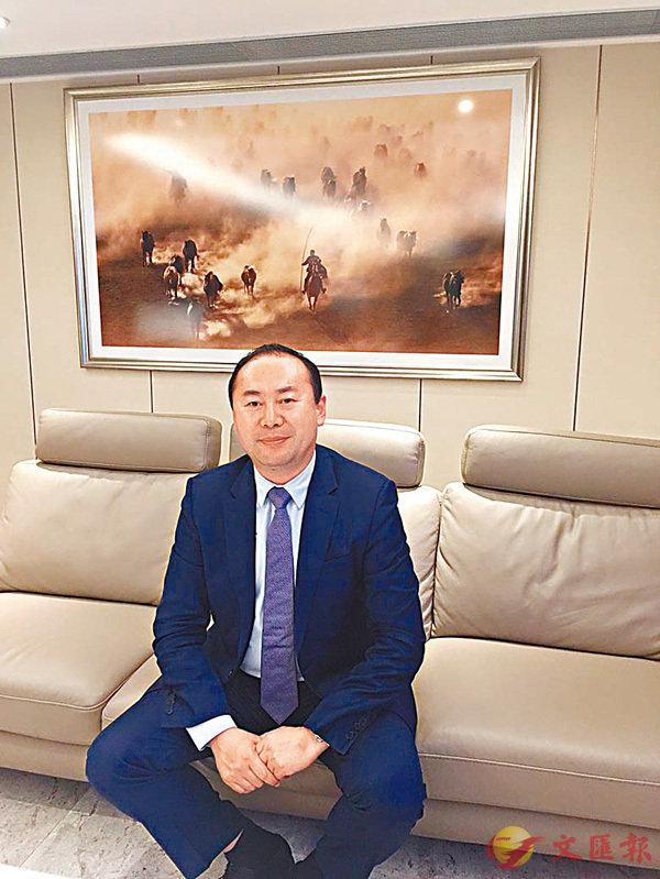 ■陳春國希望公司今年能轉虧為盈。香港文匯報記者莊程敏  攝