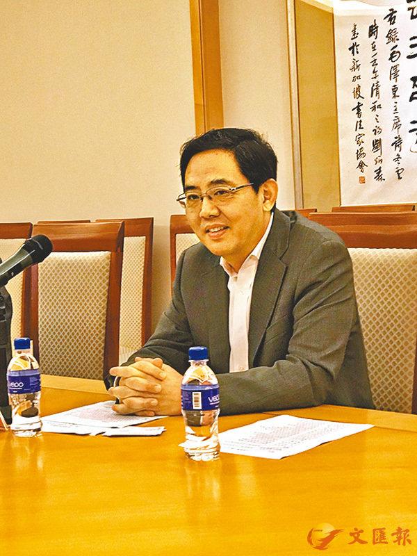 ■中國駐新加坡大使洪小勇 香港文匯報圖片
