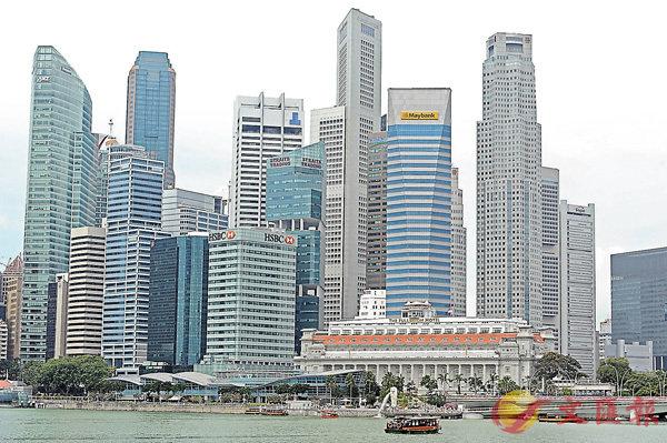 ■「一帶一路」倡議下,中新合作迎來新機遇。圖為新加坡核心商業區。香港文匯報圖片