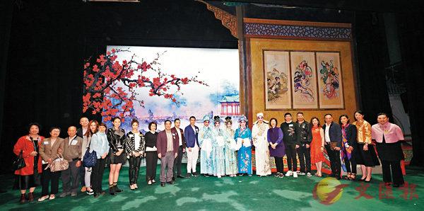 ■「東華三院慈善粵劇晚會」日前假新光戲院大劇場舉行。