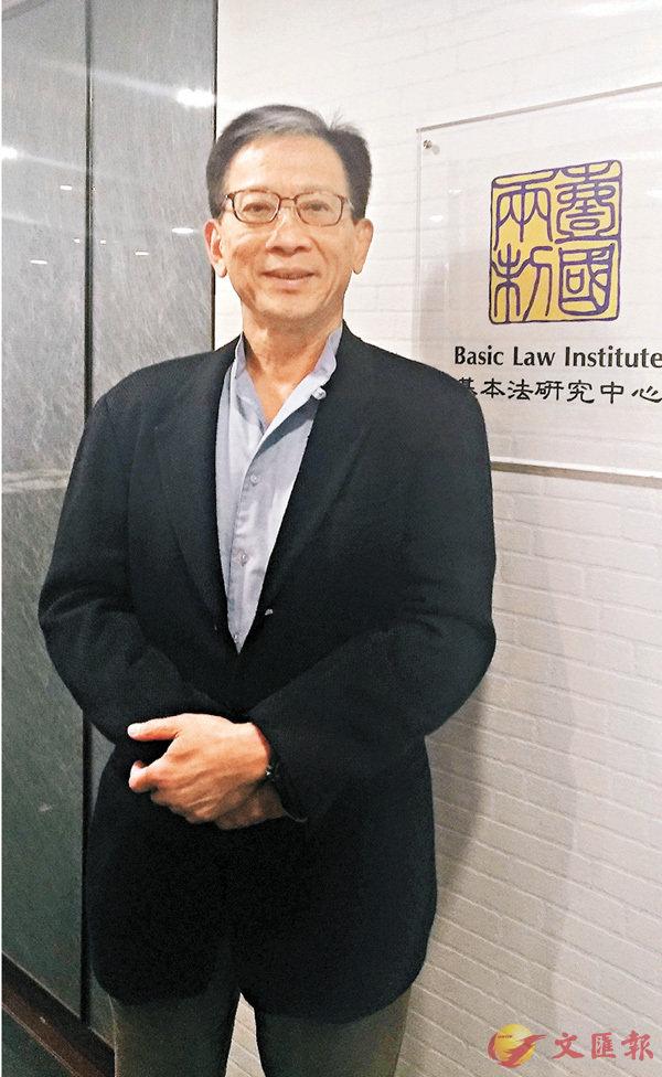 ■胡漢清指出,現時港府在處理「港獨」言行上無透明度。 香港文匯報記者歐陽文倩 攝