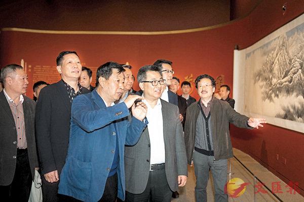 ■中國美協主席劉大為導賞畫作