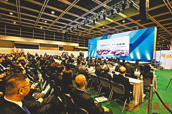 ■「內蒙古.香港經貿合作活動」昨在港開幕。 潘達文  攝