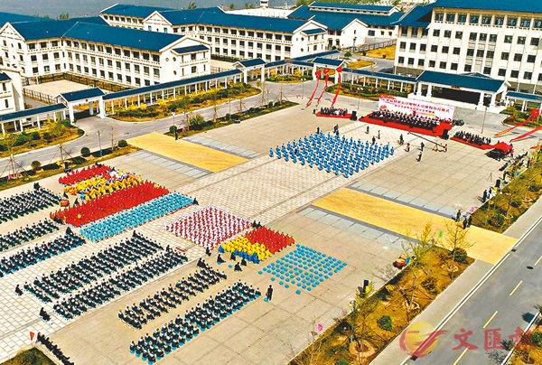 ■天津長泰監獄鳥瞰圖。   受訪者供圖