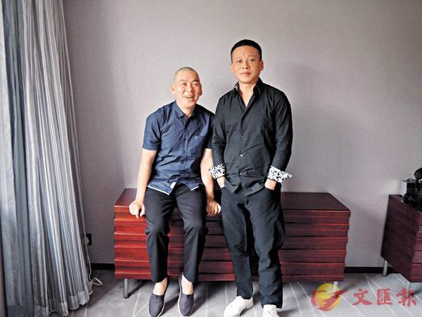 ■蔡明亮(左)與李康生是最佳拍檔。朱慧恩 攝