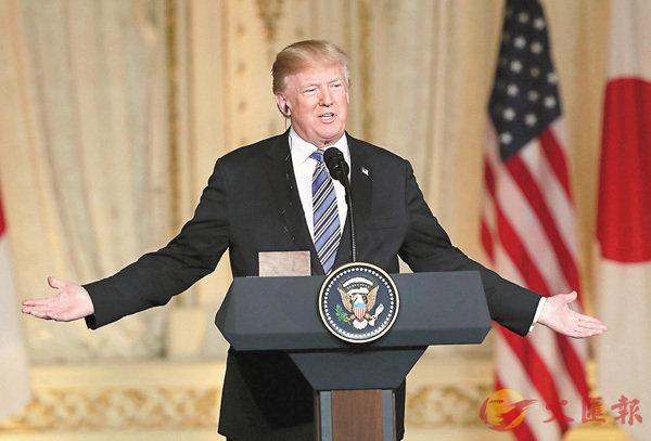 ■特朗普揚言若會談無成果,將抽身離開。 美聯社