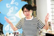 台作家楊富閔趣談自身本土寫作