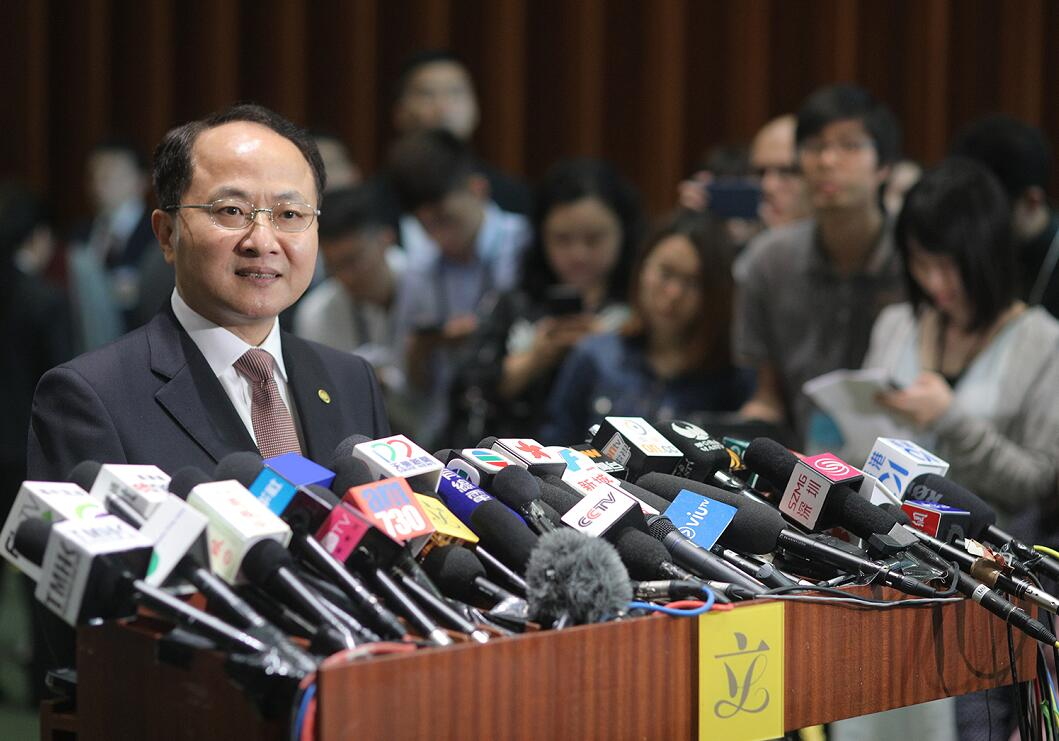 王志民:對未來與泛民溝通充滿期待