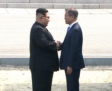 朝韓峰會 | 四分鐘看盡峰會精彩瞬間