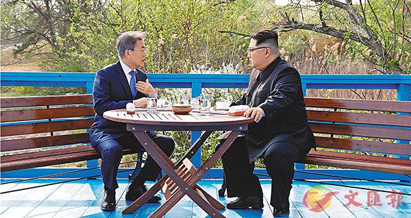 朝韓峰會:中方冀朝韓建互信 相逢一笑泯恩仇