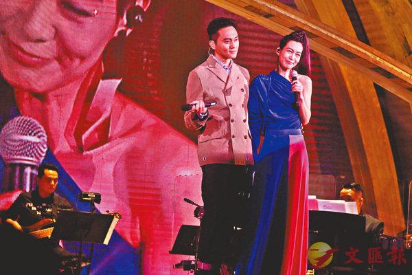 ■張智霖是趙學而今次演唱會唯一一位表演嘉賓。