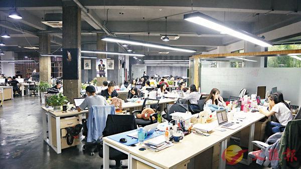 ■共享辦公為杭州濃厚的創業氛圍提供了實踐場地。