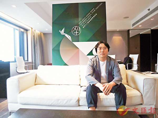 ■導演蔣佳辰在今屆香港國際電影節中帶來新作《尋狗啟事》。 朱慧恩 攝