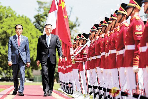李克強:中印尼共推貿易自由化