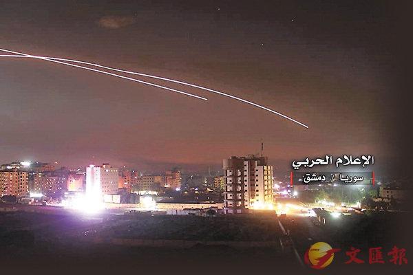 伊朗襲以基地 敘境據點遭反轟