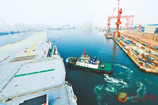 ■ 首次海試主要檢測驗證動力系統等設備的可靠性和穩定性。 新華社
