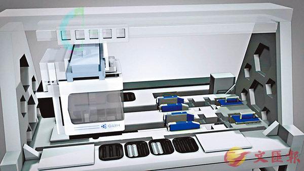 ■全自動幹細胞誘導培養設備操作台。 網上圖片