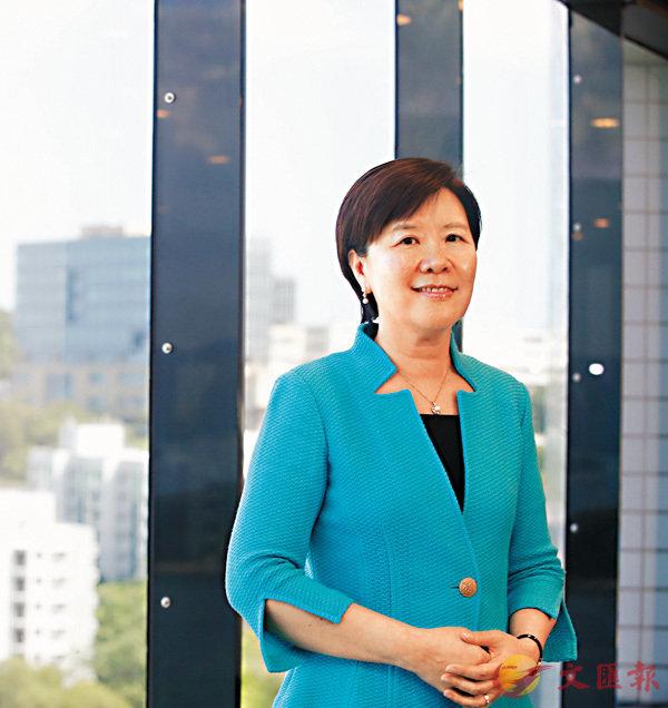 葉玉如認為香港科學家可扮演「領頭人」角色,為兩地創科發展貢獻力量。 香港文匯報記者莫雪芝  攝