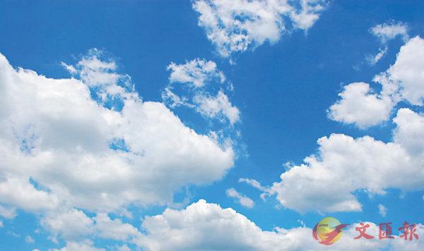 ■藍天白雲。網上圖片