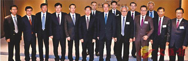 ■廠商會接待廣西壯族自治區代表團。