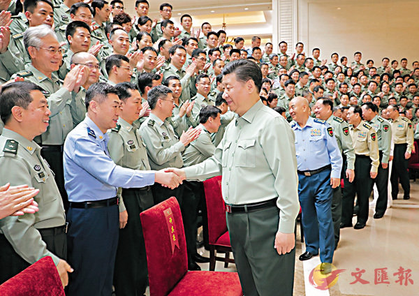 習近平:建設高水平軍事科研機構