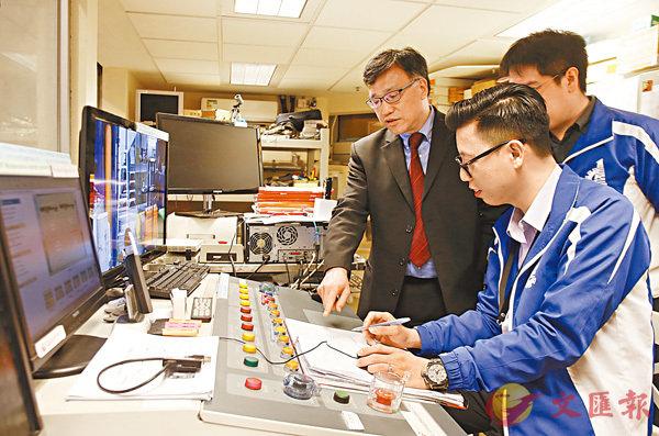 鍾國輝估計未來全港科研單位可以申請到的經費總額有望達數以億元計。香港文匯報記者莫雪芝  攝