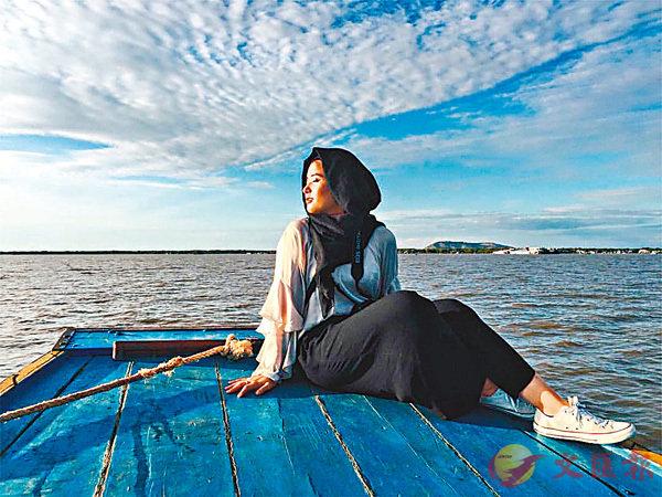 ■Rida是個喜歡旅行的女孩。