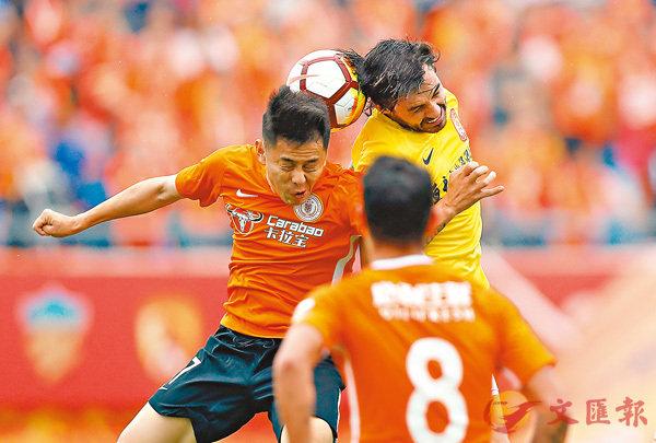 ■�琱j(黃衫)在剛剛過去的周日以0:2不敵北京人和。 新華社