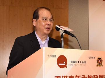 張建宗:大灣區為香港青年帶來新的機遇