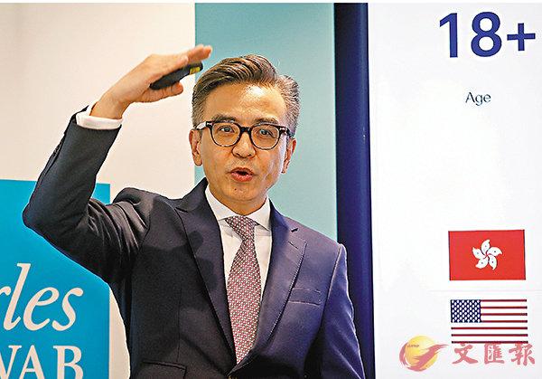 ■方碩穩稱,43%的香港新晉富裕階層視投資房地產為長期投資目標。 莫雪芝  攝