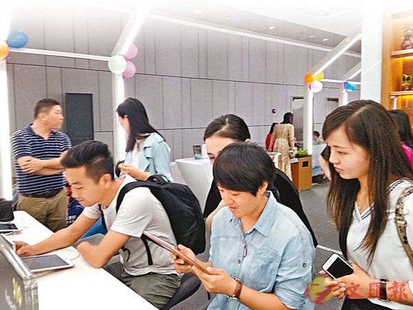 港企領駿達推出人工智能、人臉識別等八大黑科技助客戶便捷網上購車。
