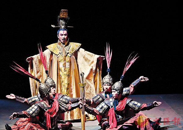 ■歌劇《楚莊王》在北京國家大劇院上演。