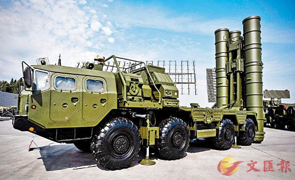 ■S-400被視為俄軍最先進防空系統。 法新社