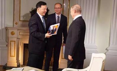 央視「面對面」專訪普京