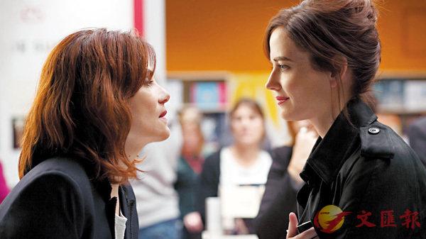 ■電影強烈地表達兩位女人艾曼妞薛納和伊娃格蓮之間的對抗和角力。