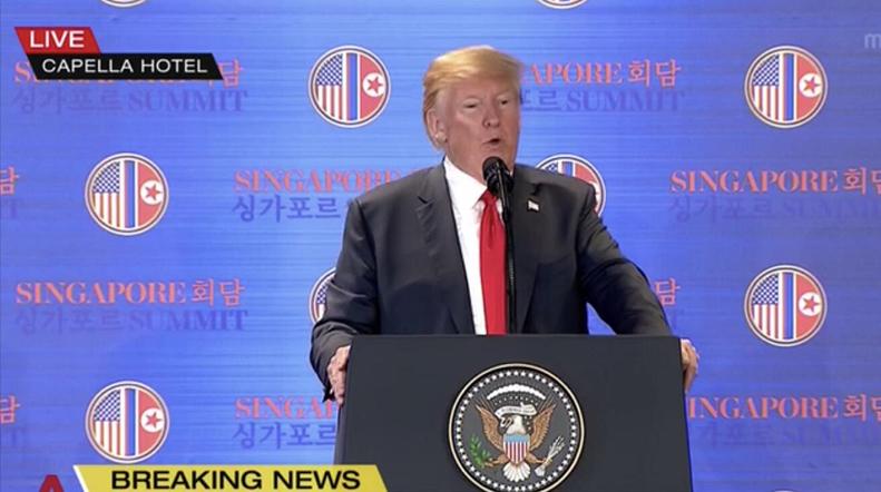 特朗普:朝鮮戰爭將很快結束