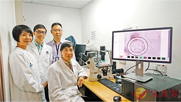 ■港大研究團隊成功建立可預測新發流感病毒感染性的呼吸道類器官。 香港文匯報記者顏晉傑  攝