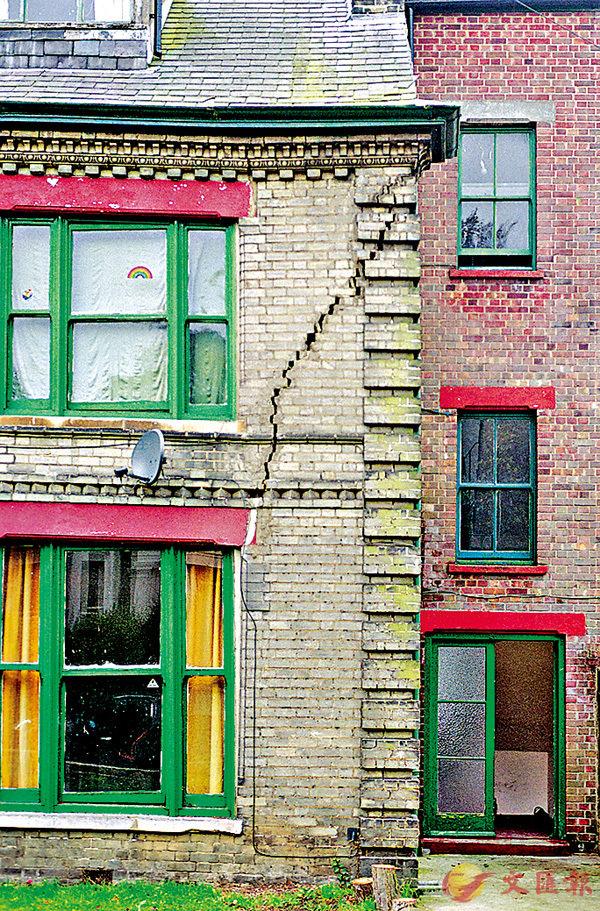 ■只要加固建築物地基,便不會出現沉降。 教圖供圖