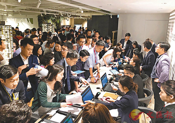 ■香港樓市熾熱,樓價不斷飆升,政府如開徵空置稅,料可增加市場供應。