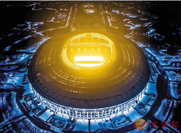 ■世界盃今晚將於莫斯科盧茲尼基球場舉行揭幕禮,據報今屆典禮是以音樂為主。 法新社