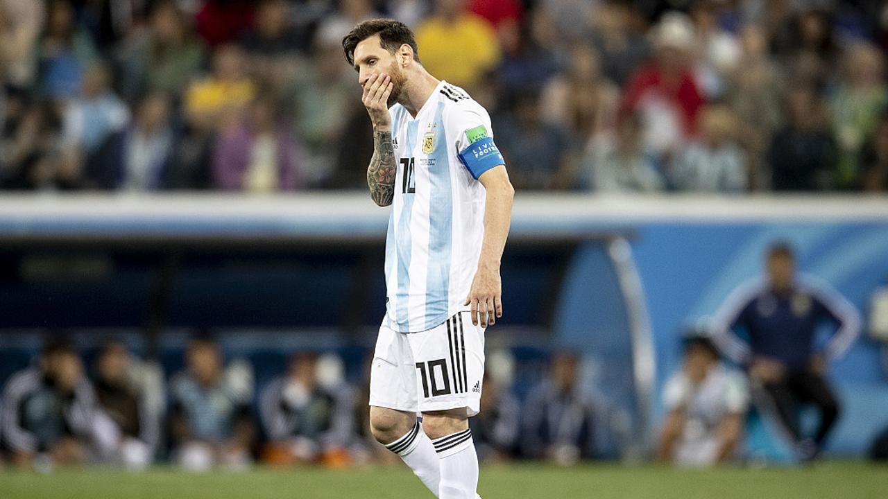 梅西低迷 阿根廷0-3慘敗克羅地亞