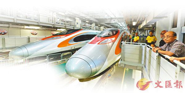 ■《廣深港高鐵 (一地兩檢)條例》昨日刊憲,正式成為香港法例, 香港段高鐵計劃在今秋通車。